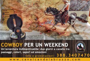 "Tornano i trekking a cavallo, aperte le prenotazioni per ""Cowboy per un weekend"""
